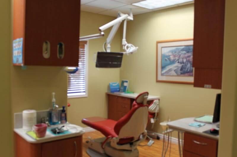 A dental operating room